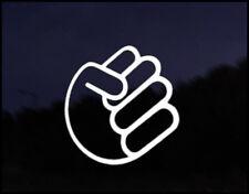 Shocker Fist Car Decal Sticker JDM Vehicle Bike Bumper Graphic Funny