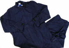 PPC OhmTec Cotton/Nylon Coveralls, Size 92S, Vented Under Arms, Navy. 250gsm