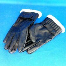 Drykorn Herren Winter Handschuhe Tinus Gr L Leder Fell Schwarz Fingerhandschuhe