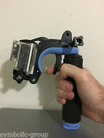 Go Pro trigger mount for GoPro Hero 6, 5, 4, 3, 2, 1 & other action cams.