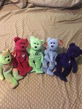 TY Beanie Baby 5 Bear Set (RARE)