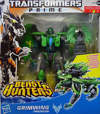 HASBRO® A2409 Transformers Beast Hunters Prime Voyager Class Predacon Grimwing