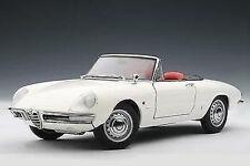 1:18 Autoart Alfa Romeo 1600 Duetto Spider (White) 1966