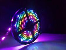 5 m WS2812B RGB SMD5050 DEL Magic Dream bande de couleur lumière ruban adhésif Full Kit