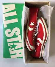 Vtg 50s Converse Chunk Taylor All Star Track Athletic Sneakers Canvas Size 7 USA