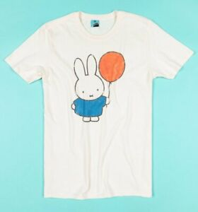 Official Women/'s Miffy Embroidered Boat Breton T-Shirt