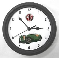 1947 MGTC Garage Wall Clock New Great Gift!