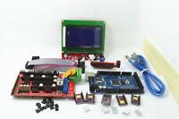 3D Printer Kit RAMPS 1.4 Mega 2560 R3 12864 LCD Controller 5x DRV8825 Driver