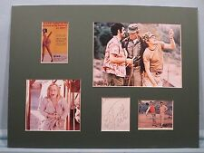 """Donald Sutherland as Hawkeye  in """"MASH"""" signed by Elliott Gould as Trapper John"""