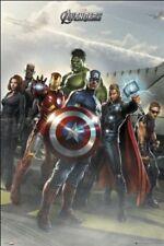 Marvel Avengers Affiche 61x91.5cm FP2708 Fury Hulk Cap Thor Hawk Veuve Iron Man