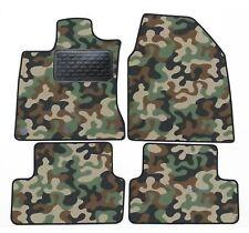 Armee-Tarnungs Autoteppich Auto-Matten für Nissan Qashqai J10 2007-2013