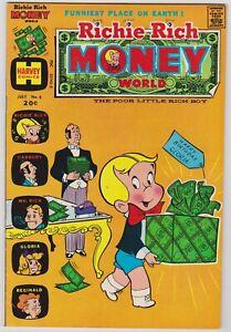 Richie Rich Money World #6 - Harvey File Copy Comic! 1973 NM-