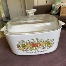Vintage Corning Ware 5 Liter L'Echalote La Marjolaine