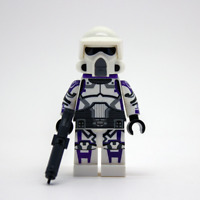 Lego Star Wars Custom 187th ARF Clone Trooper with DC-15S Blaster & Backpack