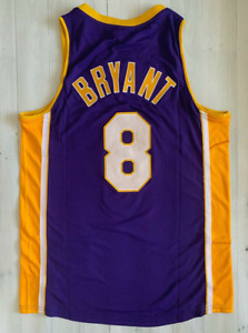 Kobe Bryant Lakers Jersey Authentic Purple Championship Finals Champion 2000-01