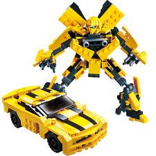 GUDI Transformers Robot Bumblebee Model Building Blocks Children's Toys 225pcs