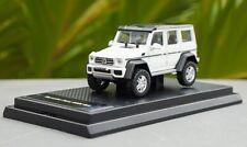 Mercedes Benz G500 4X4 White Color 1/64 Diecast Model