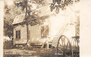 H70/ Bay Lake Minnesota RPPC Postcard c1910 Ruttgers Cottage  83