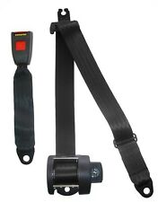 Seat Belt - Auto Lap & Diagonal - Black 254 SECURON