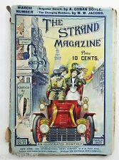 1903 The Strand Magazine March Fair Grade Arthur Conan Doyle Illustrated