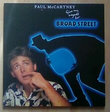 PAUL McCARTNEY  Vinyl LP Give My Regards To Broad Street, EX+
