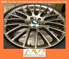 BMW 5er 6er Cross Spoke 312 ferricgrey 20 Inch alloy wheels jante din alia
