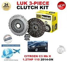 PER CITROEN C3 Mk II 1.2 THP 110 110 BHP 2014-on POI Luk Kit frizione originale
