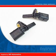 Front Pair ABS Wheel Speed Rotation Sensors 7H0927803 / 7H0927804 - VW [2003-On]