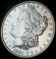 1881-O MORGAN DOLLAR - ALMOST UNCIRCULATED - FAST SHIPPING - FAST COIN DELIVERY!