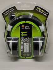Turtle Beach Ear Force X11 Black/White Headband Headsets for Xbox 360/PC - NEW!!