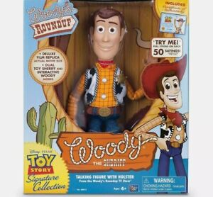 Thinkway Signature Collection Toy Story Woody Film Replica with Certificate
