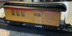 Roundhouse 1930's American Railway Express Car, Union Pacific #858,HO Scale