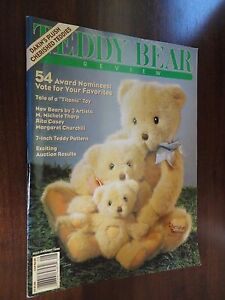 Teddy Bear Review Magazine Back Issue July / August 1995