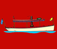 Build Steamboat Diana, a 1/6-Scale RC Steam Yacht
