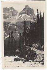 Canada, Cathedral Peak & Yoho Real Photo Postcard, U002