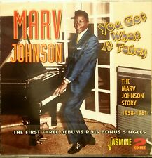 MARV JOHNSON 'YOU GOT WHAT IT TAKES' - 2 CD Set on Jasmine