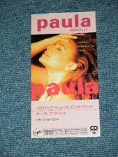"PAULA ABDUL Japan 1991 Tall 3"" CD Single BLOWING KISSES IN THE WIND"