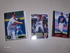 Cleveland Indians past and present,Thome,Carmona,Lofton,Sizemore,  50 cards