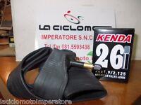CAMERA D'ARIA BICI 26 x 1.90/2.125 MTB VALVOLA SCHRADER LUNGA 48mm ( MOTO) KENDA