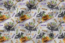 Bedruckte Baumwolle Öko-Druck Halloween gruseliges Kaninche Bedruckter Stoff
