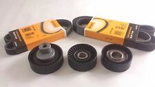 V-belt pulley set Tension pulley Deflection pulley  BMW  E39 E46 6PK1538 5PK865