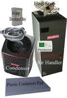 2.5 ton 14 SEER HEAT PUMP 410a Goodman System GSZ140301+ARUF31B14 Install Packge
