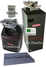 2 ton 15 SEER HEAT PUMP 410a Goodman System GSZ140241+ASPT29B14 Install Package