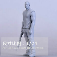 1:24 Resin Figures Model Kit, Miniatures role of Fast & Furious R102 Garage Kit