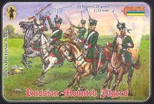 Strelets 1/72nd Scale Plastic Napoleonic Russian Jägers Cavalry Set 18 In BOX!