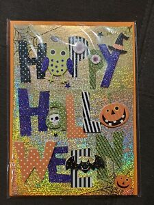 Papyrus Card Wishing You Lots of Treats and Not Too Many Tricks Halloween NEW