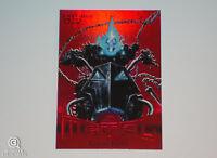 2013 Marvel Fleer Ghost Rider Red PMG Precious Metal Gems Parallel Card 20/100