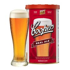 Coopers Real Ale - 1.7 kg Homebrew kit - makes 23 liters of beer