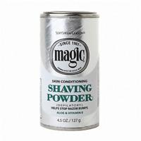Magic Shave Skin Conditioning Shaving Powder, 4.5 oz (2 Pack)