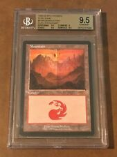 MTG Magic the Gathering GURU Mountain Promo Terese Nielsen BGS 9.5 GEM MINT